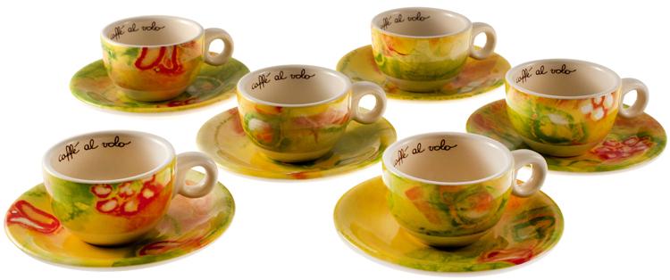 Confezione 6 tazzine caffe eden thun for Ceramica thun saldi