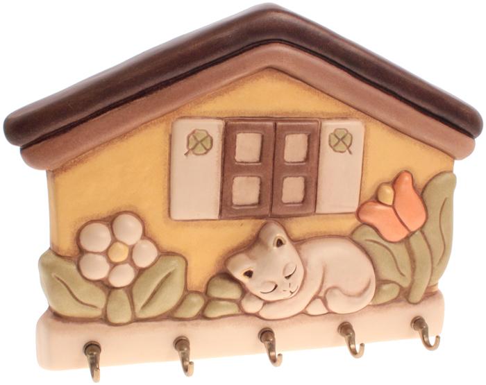 Appendichiavi casetta con gatto thun for Gatto thun