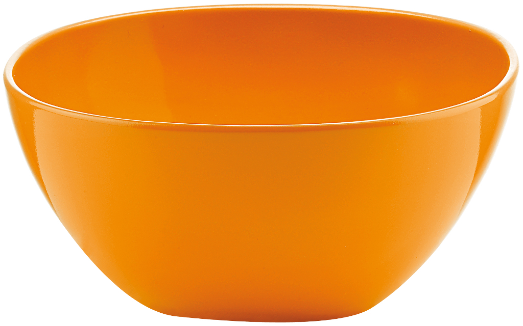 Coppetta ciotola insalatiera melamina arancio guzzini for Ciotola alessi prezzo