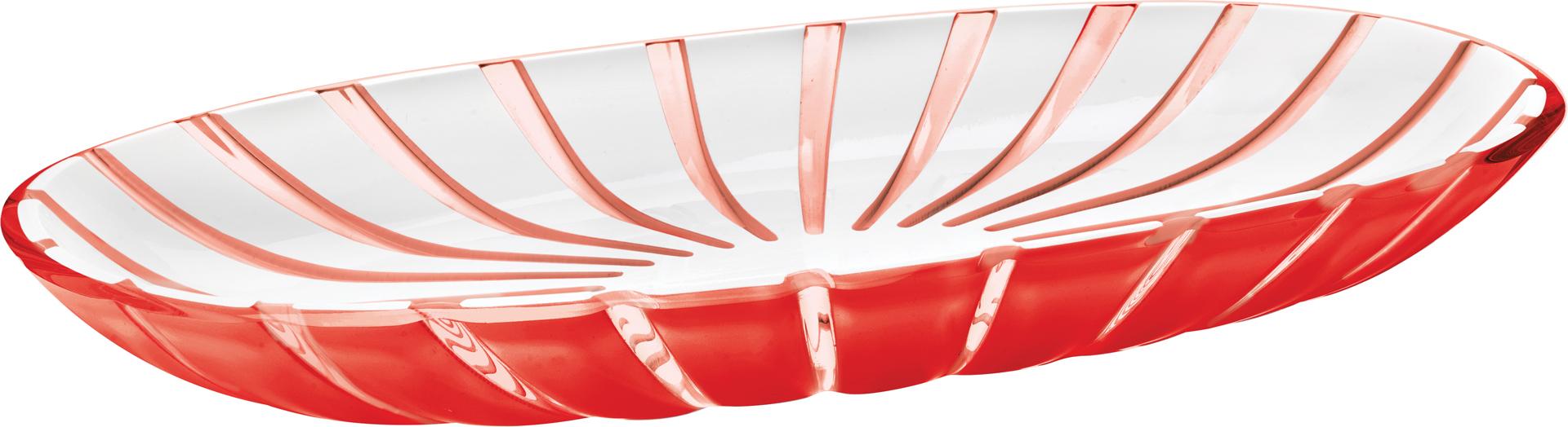 Guzzini vassoio da portata grace rosso accessori - Vassoio da portata ...