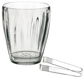 Guzzini secchiello ghiaccio con pinza trasparente accessori for Saldi thun amazon
