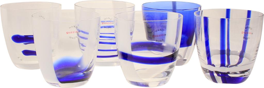 Set 6 bicchieri acqua table art blu - Guzzini casalinghi catalogo ...