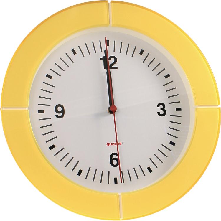 Orologio da parete i clock - Guzzini casalinghi catalogo ...
