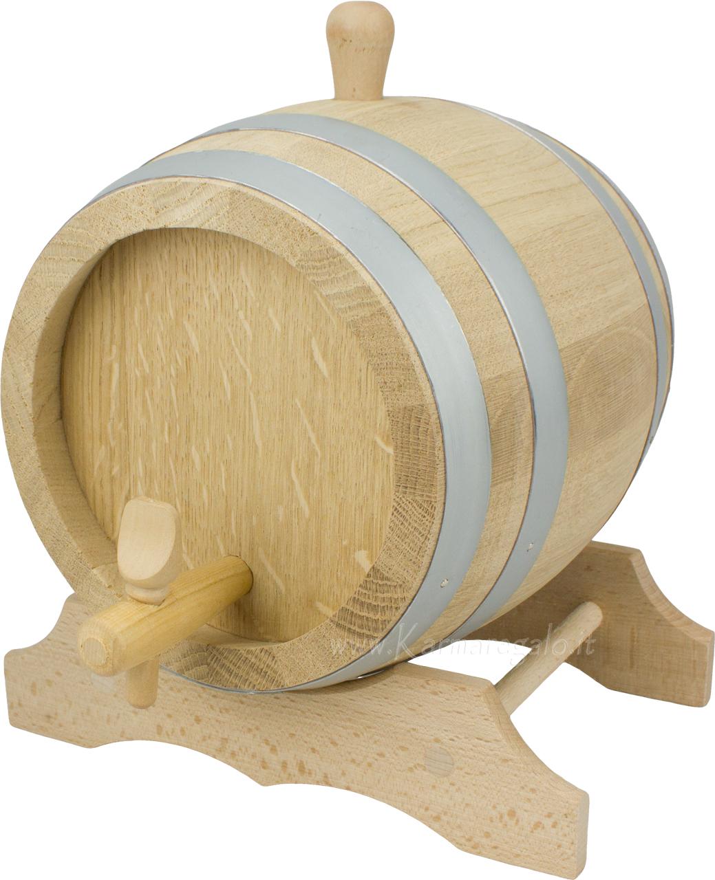 Karmaregalo botticella lt 10 in legno di quercia utensili for Amazon thun saldi