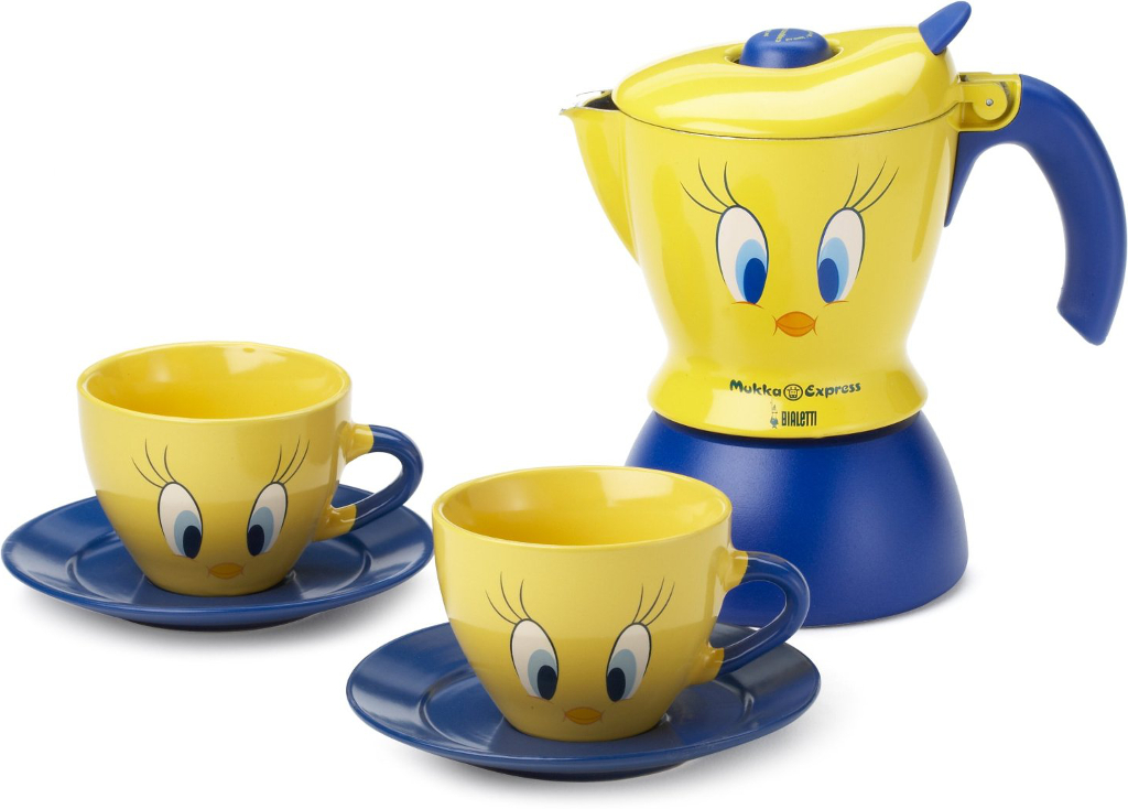 Moka tweety per cappuccino bialetti for Saldi thun amazon