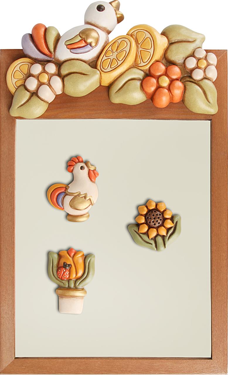 Lavagna country con magneti - Lavagna magnetica da cucina ...