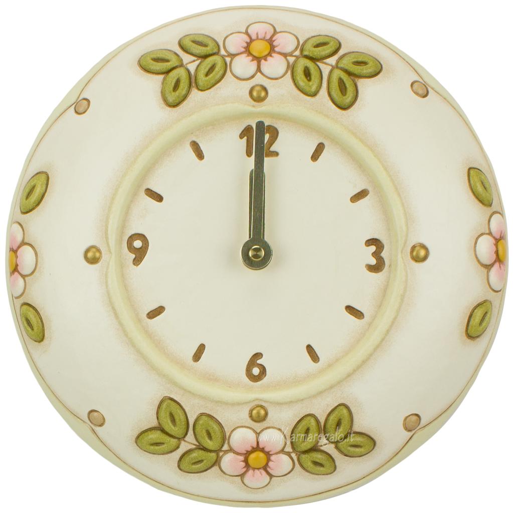 Orologio da parete fiori for Thun orologio da parete