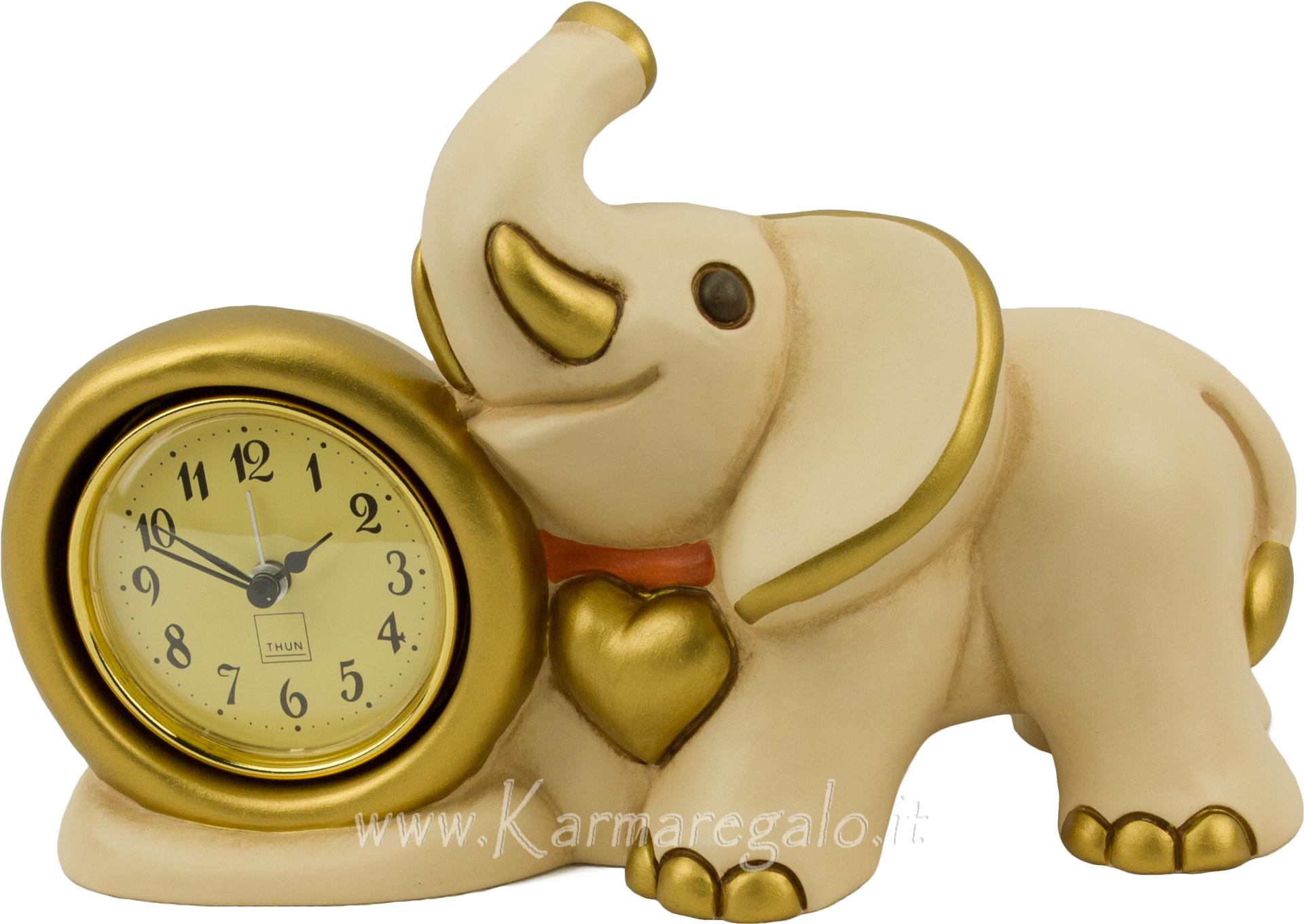 Orologio elefante con sveglia for Sveglia thun prezzo
