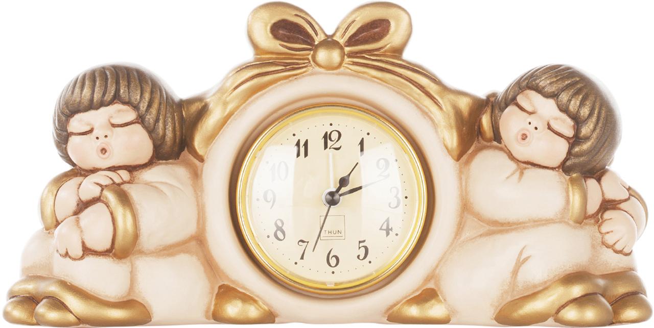 orologio coppia angeli con sveglia