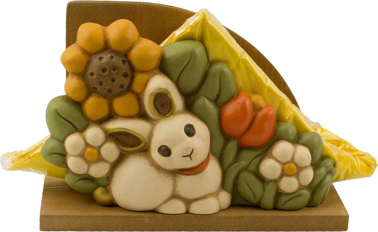 Accessori Bagno Thun : Portatovaglioli coniglietto