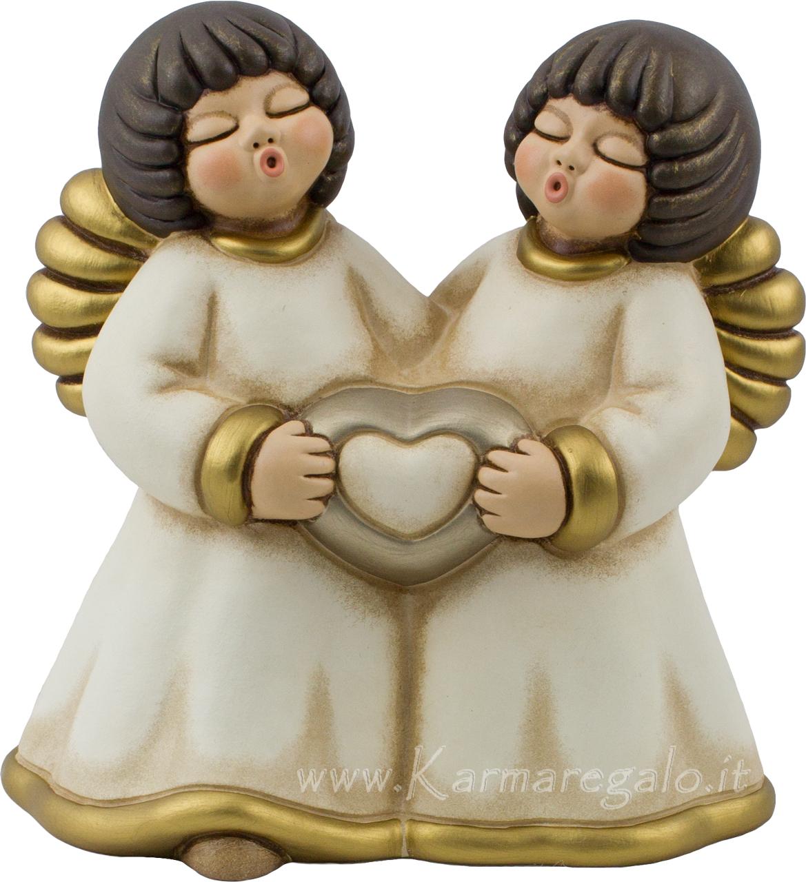 Coppia angeli nelly grandi for Immagini da colorare di angeli