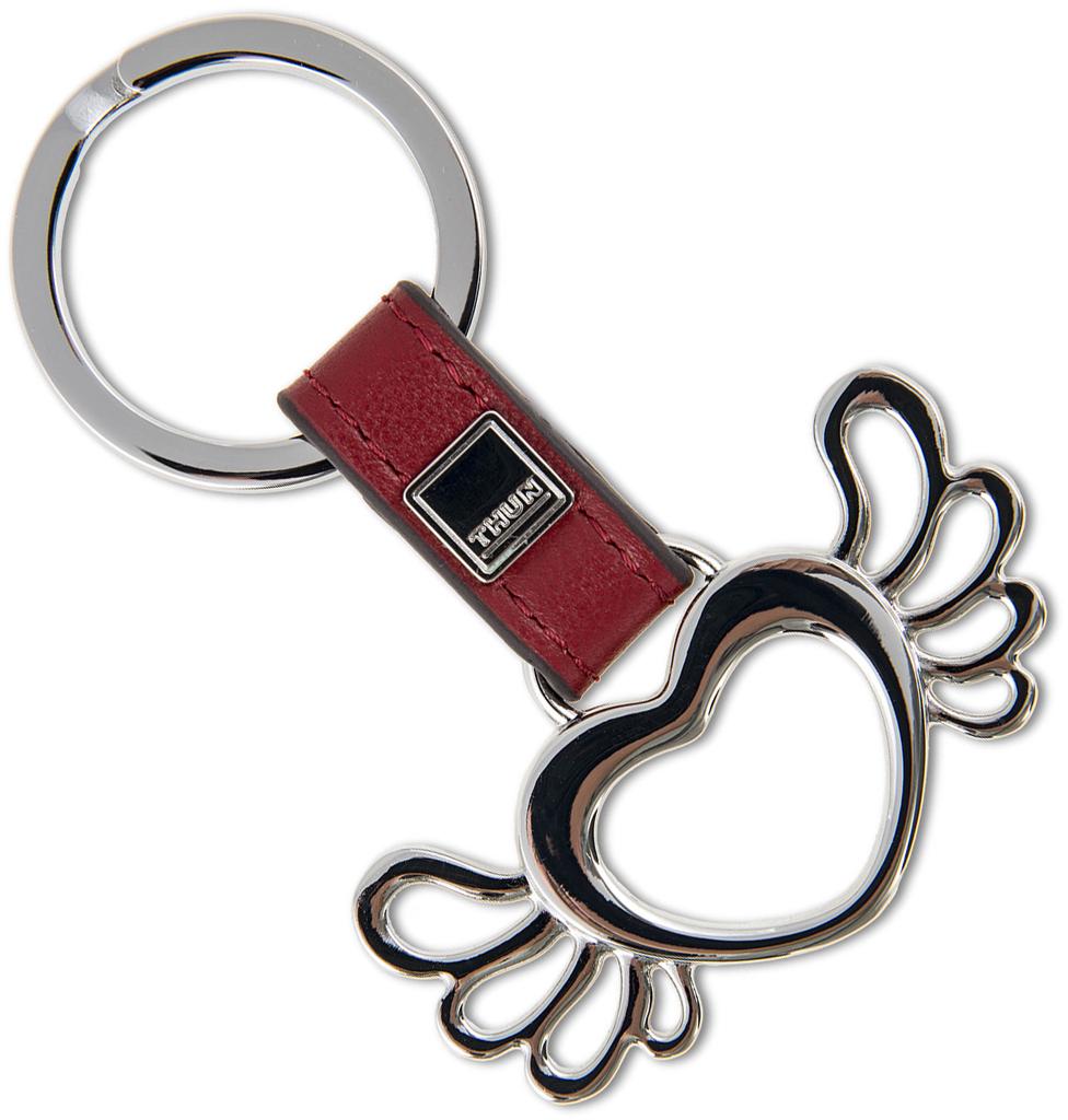 Portachiavi ad anello cuore con ali thun - Idee regalo thun ...