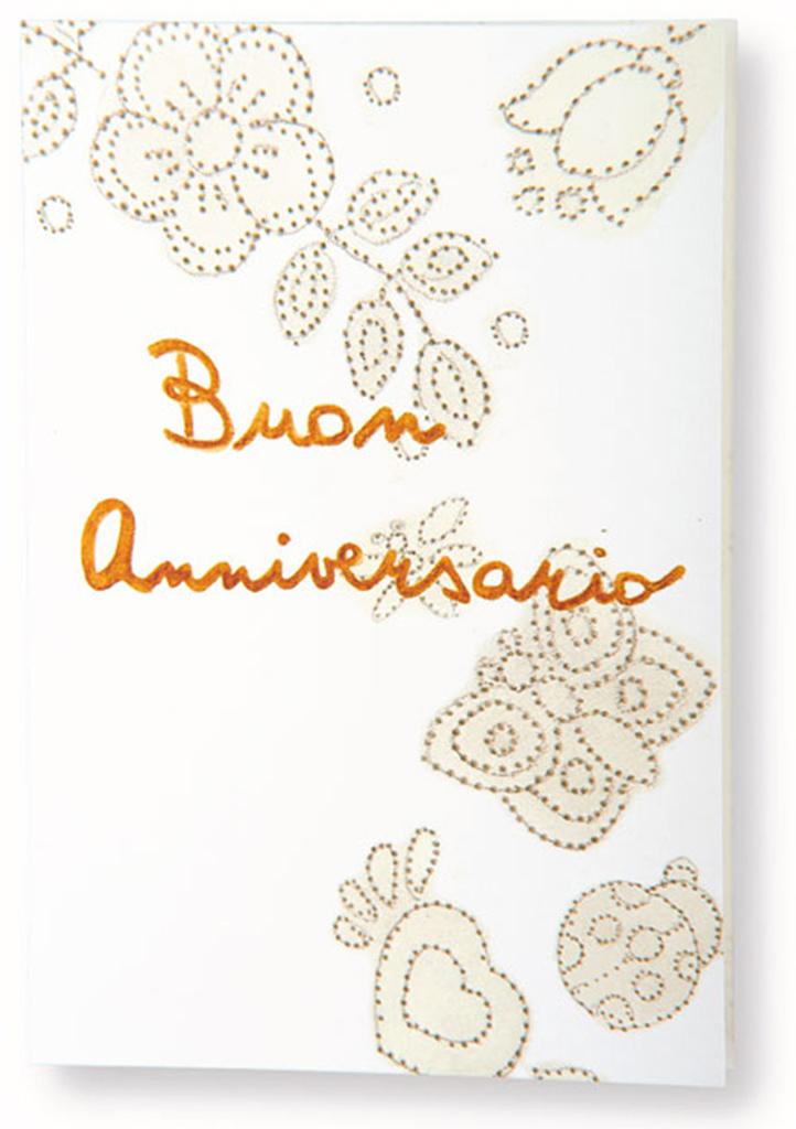 Auguri Matrimonio Via Mail : Biglietto auguri buon anniversario