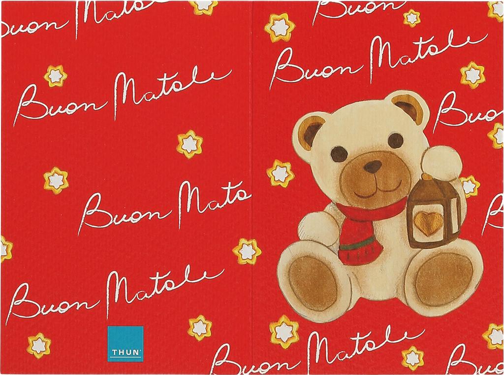 Thun biglietto auguri teddy con lanterna idee regalo - Thun idee regalo ...