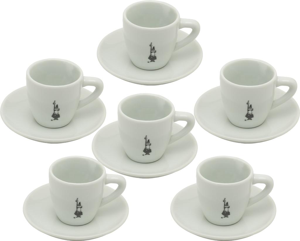 Set 6 tazzine caffe espresso bialetti for Tazzine caffe moderne