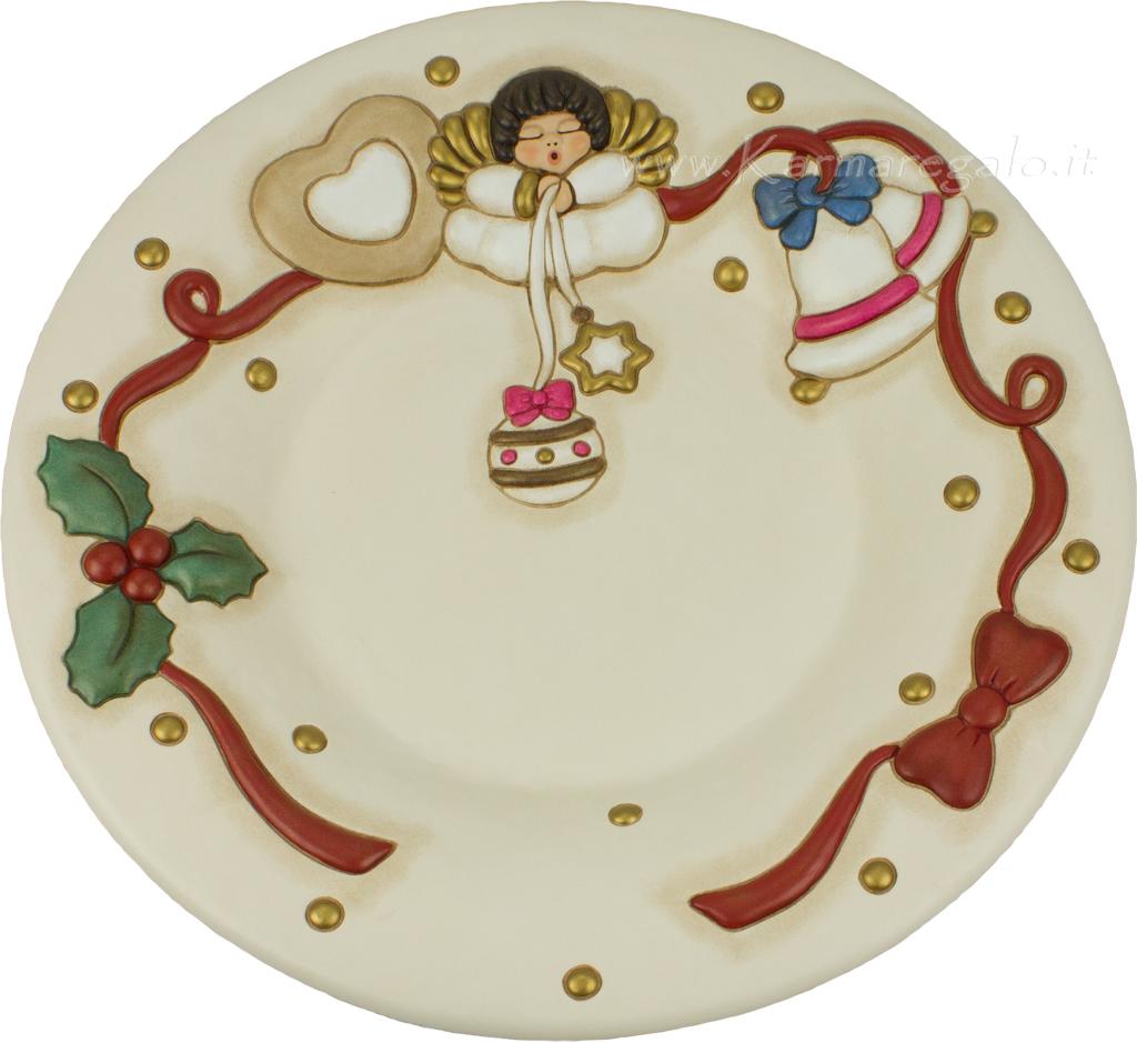 Centrotavola natalizio con angelo thun for Ceramica thun saldi