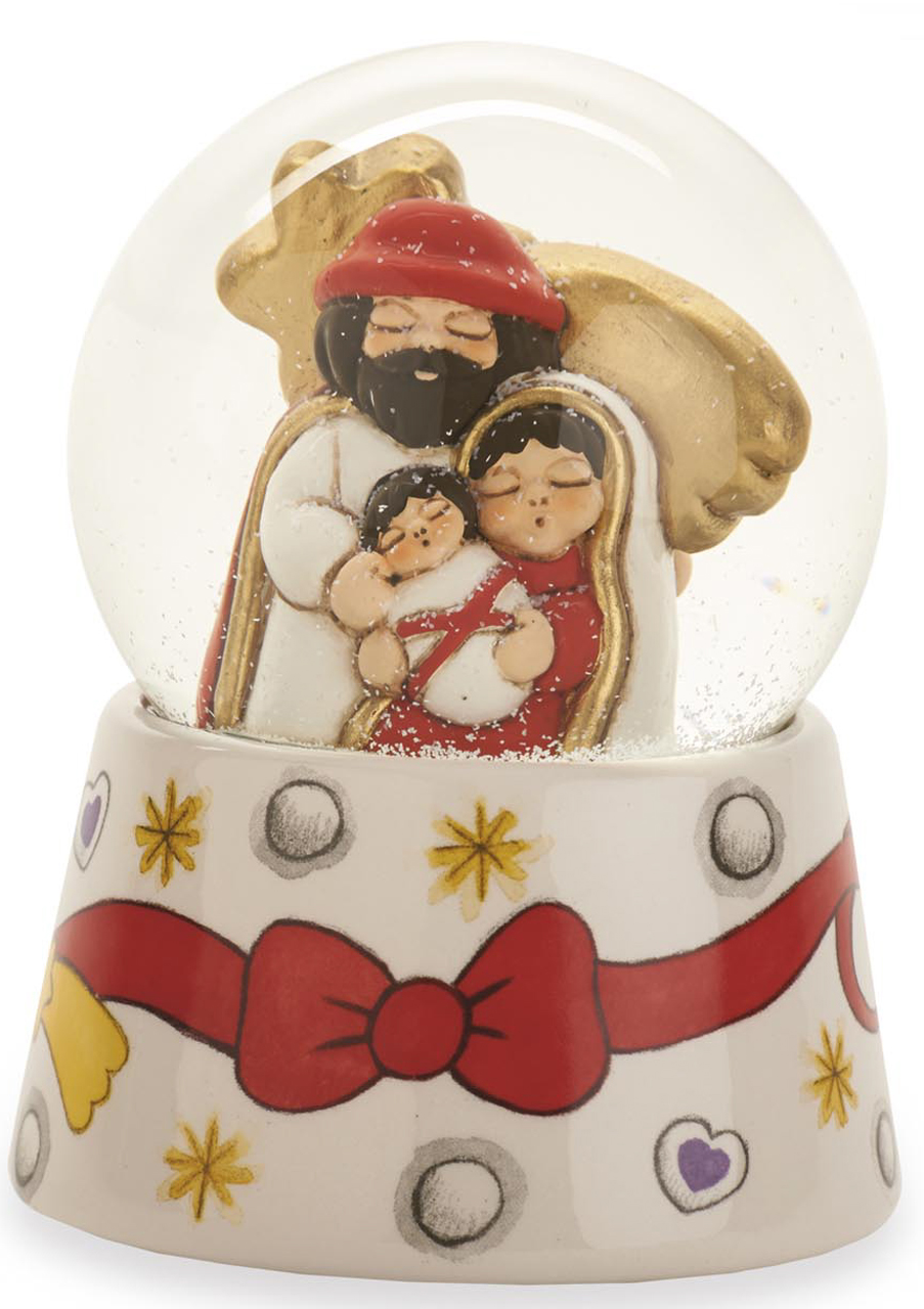 Boule de neige sacra famiglia thun for Thun accessori bagno