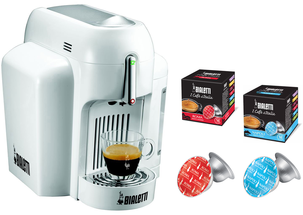 Mini Espresso Maker ~ Coffee maker mokona bialetti mini express only capsules