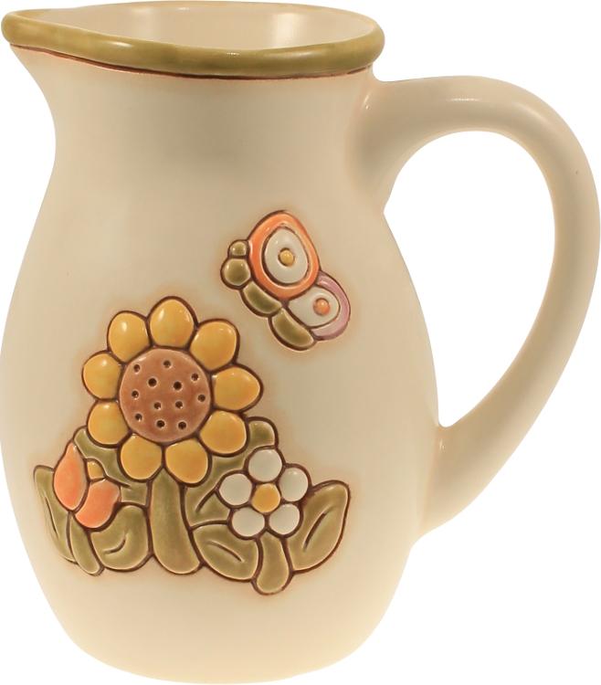 Brocca girasole grande thun for Ceramica thun saldi