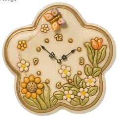 Orologio fiore prestige - Thun orologio da parete ...