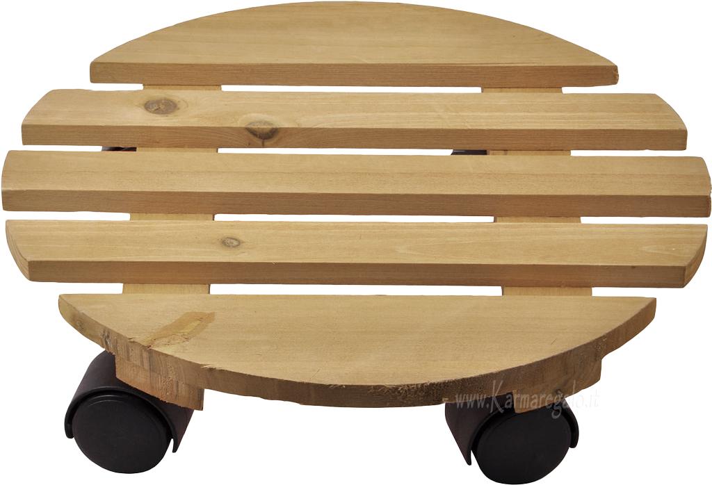 ruote arredamento karmaregalo base in legno con ruote arredamento