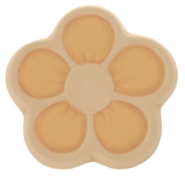 Formella fiore di pesco giallo thun for Formelle thun saldi