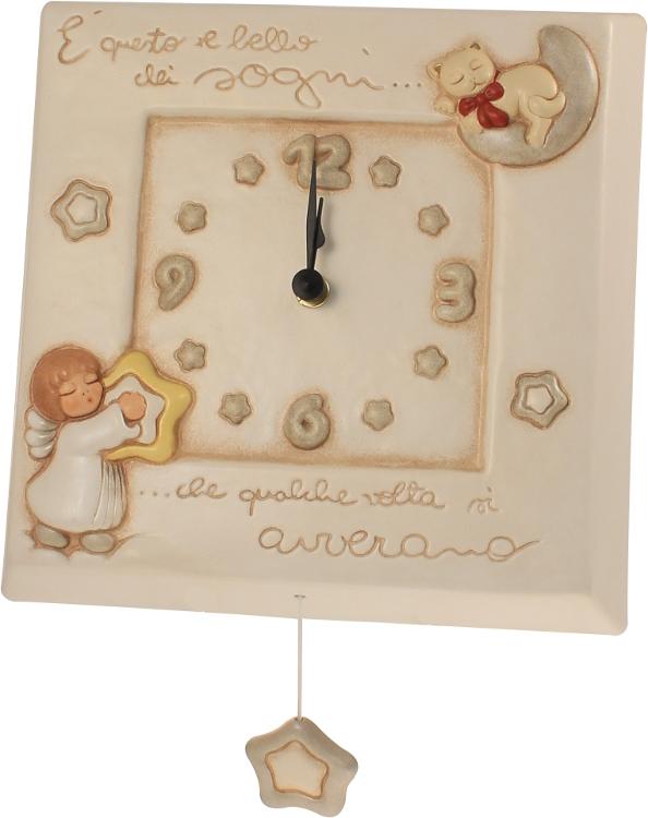 Orologio carillon angelo for Pendolo thun