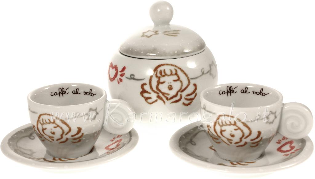 Accessori Bagno Thun : Thun set zuccheriera e tazzine caffe natale in famiglia