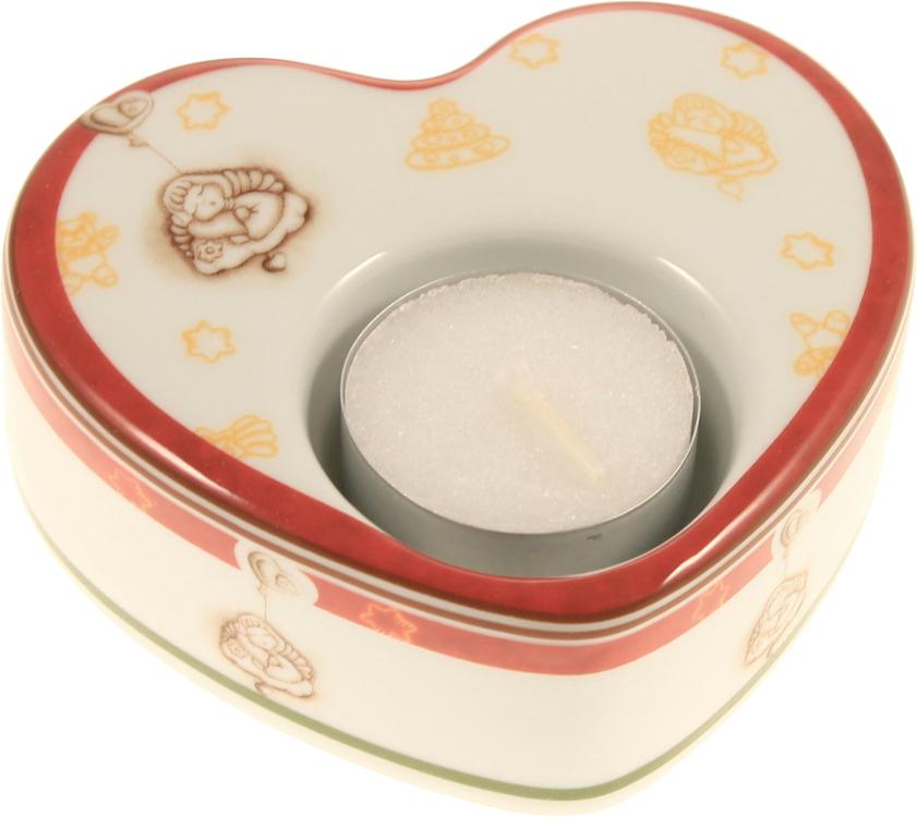 Porta tea light dolce natale cuore thun - Porta tea light ...