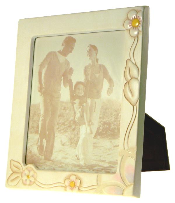 Portafoto grande con fiori thun - Porta foto thun ...
