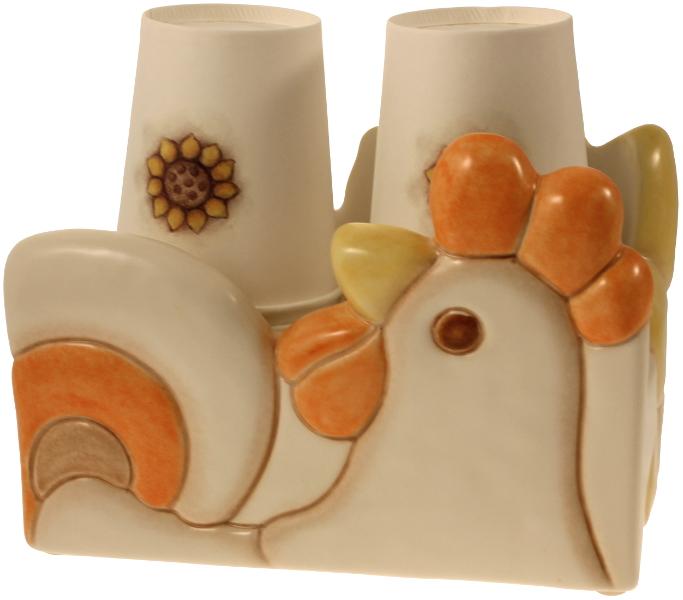 Portabicchieri doppio solare thun for Ceramica thun saldi