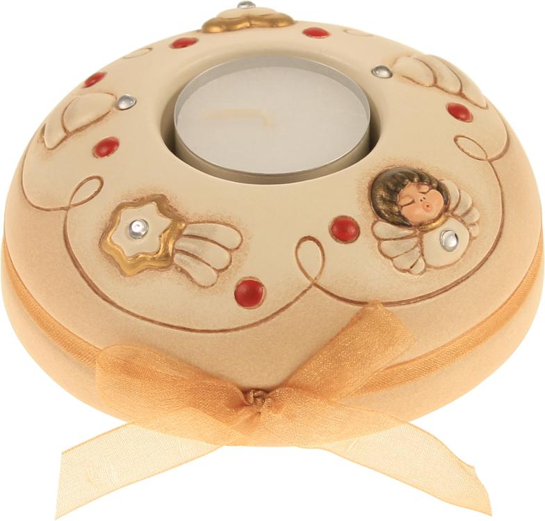 Porta tea light avorio thun - Porta tea light ...