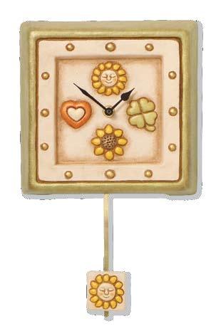 Orologio da parete con pendolo thun for Thun orologio da parete