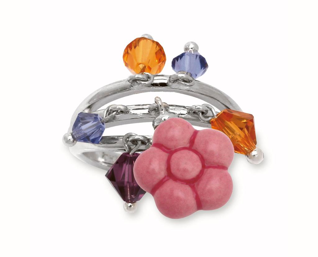 Thun anello fiore rosa idee regalo - Thun idee regalo ...