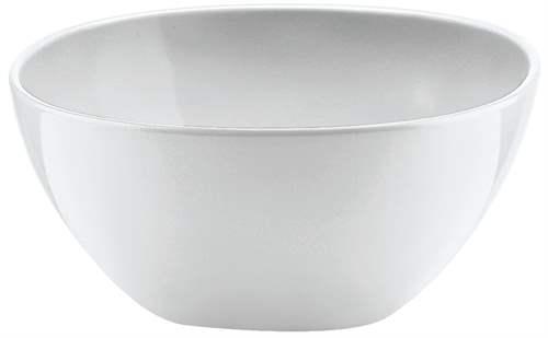 Coppetta ciotola insalatiera melamina bianco guzzini for Ciotola alessi prezzo