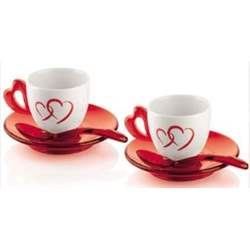 Set 2 Tazzine Caffe Love