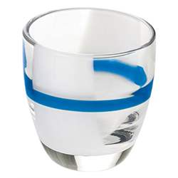 Set 6 Bicchierini Liquore Table Art Blu Decoro 2
