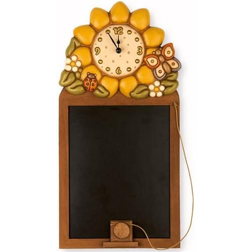 lavagna con orologio country thun