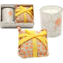 Set candela piccola con cuscino grande Allover Tulip