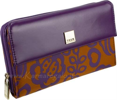 Portafoglio prestige violet thun for Thun prestige
