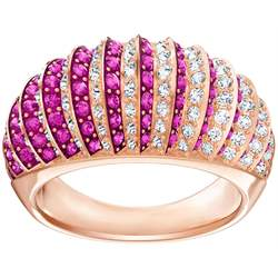 Anello Luxury Domed Rosa