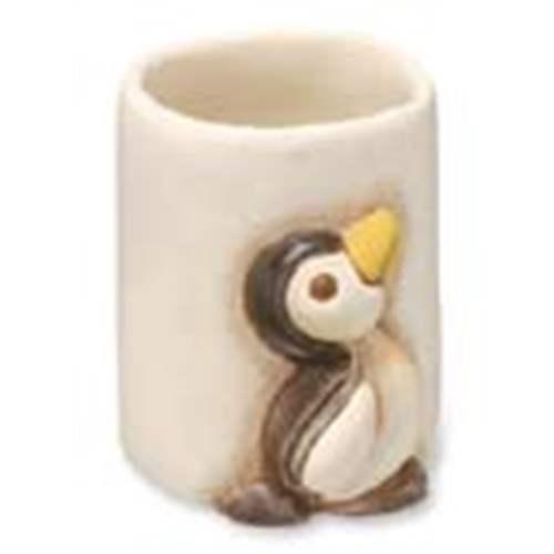 Bicchiere da bagno pinguno thun for Thun accessori bagno