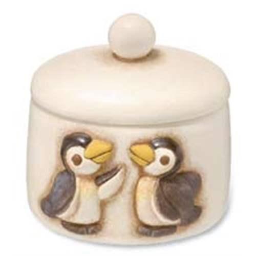 Porta ovattine pinguino thun for Thun accessori bagno