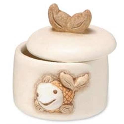Porta ovattine pesce thun for Ceramica thun saldi