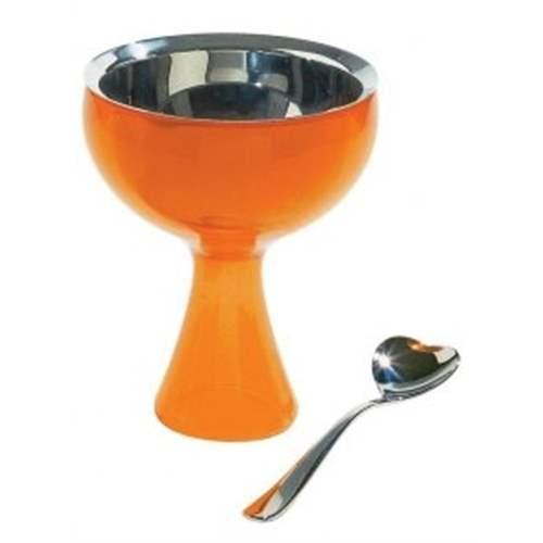 Alessi big love coppa e cucchiaino gelato arancio accessori for Amazon thun saldi