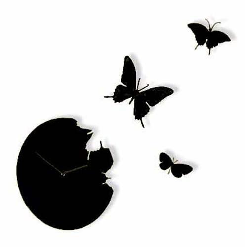 Diamantini Butterfly Orologio Nero Diamantini e Domeniconi   Complementi