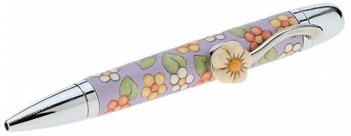 Penna a sfera Country Texture Lilac