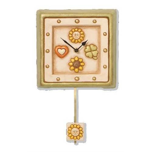 Orologio da parete con pendolo for Orologio pendolo thun