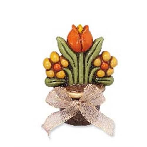 Vasetto tre fiori thun for Ceramica thun saldi