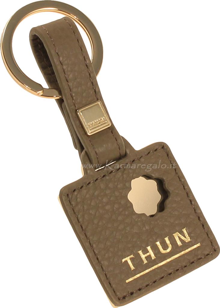 portachiavi ad anello con logo thun thun